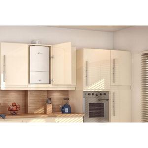 Regulations of Boiler in Kitchen Cupboard